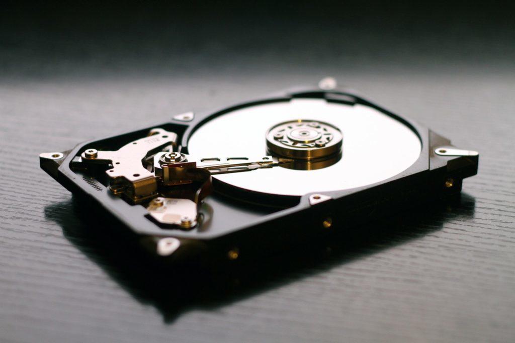 古いノートPCをSSD化